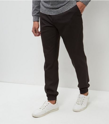 Black Formal Joggers  | New Look