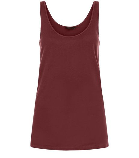 Burgundy Vest | New Look