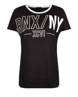 Black BRNX NYC T-Shirt  | New Look