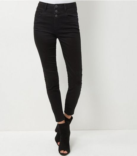 Tall Black High Waisted Skinny Jeans | New Look