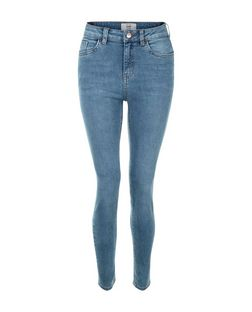 Pale Blue Authentic Skinny Jeans  | New Look