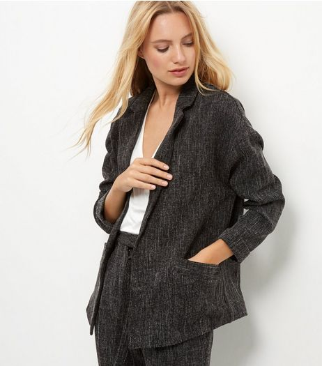 Dark Grey Suit Jacket | New Look