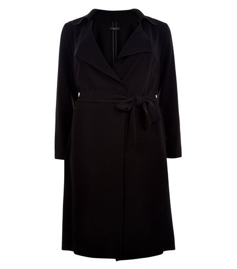 Curves Waterfall Duster Coat | New Look