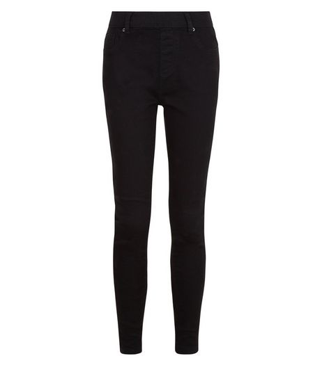 Teens Black Jeggings | New Look