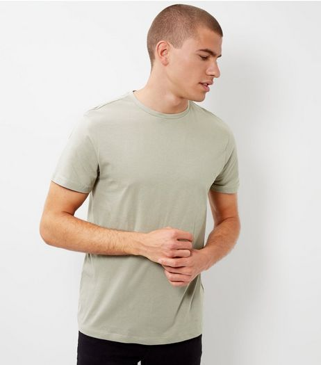 Olive Green Crew Neck T-Shirt | New Look