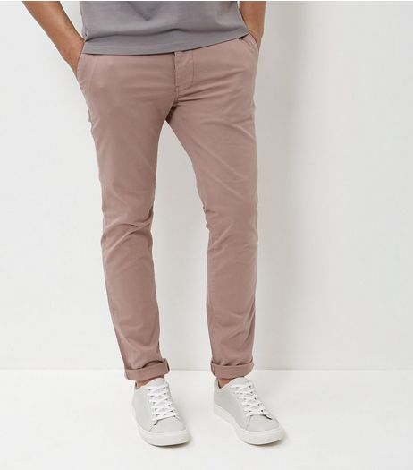 Mid Pink Slim Chinos | New Look