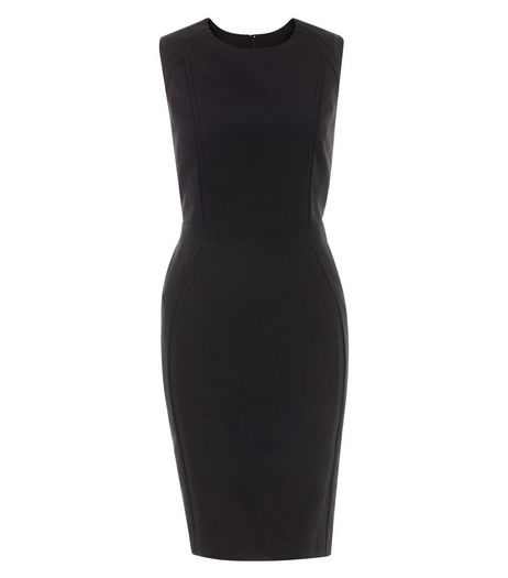 Black Pencil Dress  | New Look