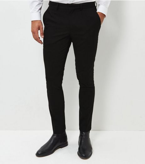 Black Skinny Suit Trousers | New Look