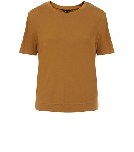 Olive Green T-Shirt  | New Look