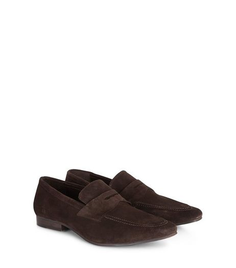 Brown Suede Loafers | New Look
