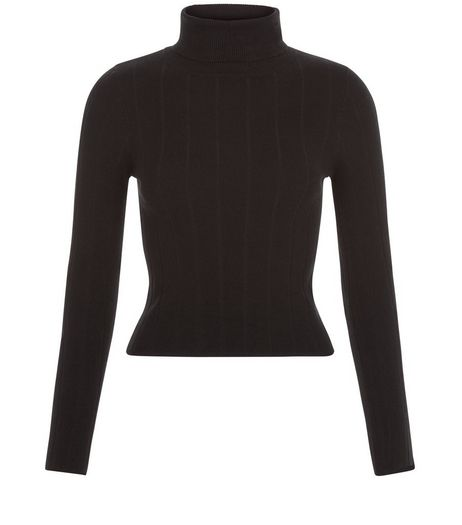 Teens Black Turtle Neck Jumper | New Look