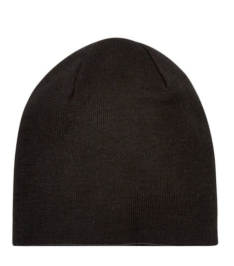 Black Beanie | New Look