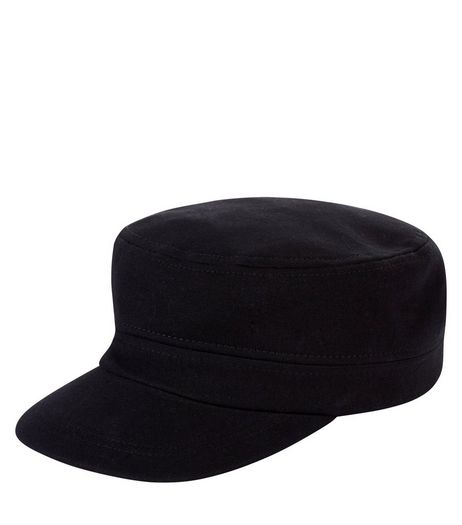 Black Castro Cap | New Look