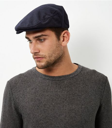 Navy Flatcap | New Look