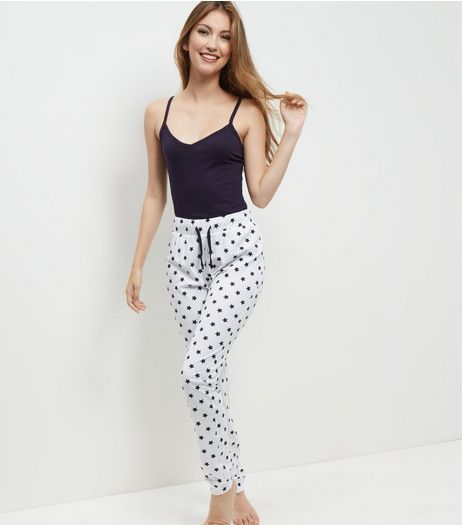 Tall Navy Star Print Pyjama Set | New Look