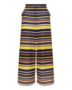 Yellow Stripe Culottes | New Look