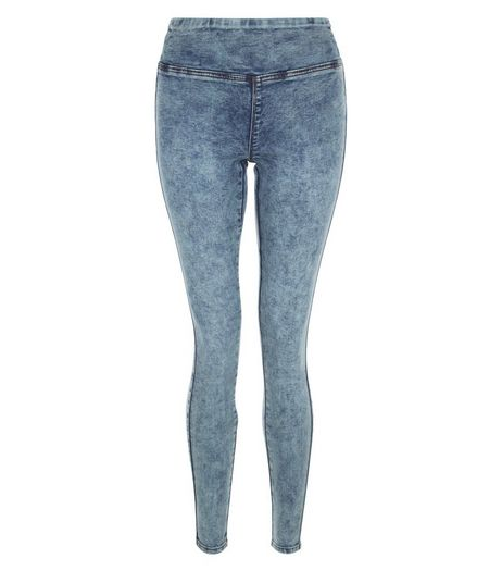 Pale Blue High Waisted Jeggings | New Look