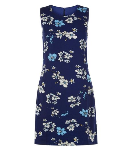Apricot Blue Floral Print Shift Dress | New Look