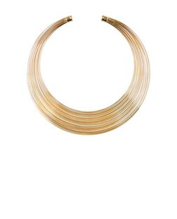 Gold Band Torque Necklace  | New Look