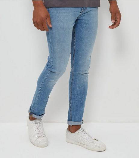 Blue Light Wash Skinny Jeans | New Look