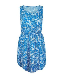 Apricot Blue Daisy Print Sleeveless Dress | New Look