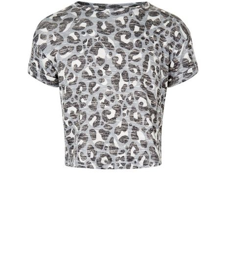 Girls Brown Animal Print T-Shirt | New Look