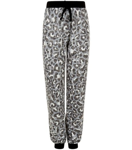 Girls Brown Animal Print Joggers | New Look