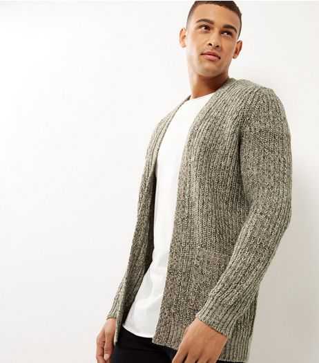 Brown Chunky Edge Cardigan | New Look