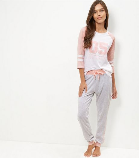 Pink 05 More Minutes Pyjama Set | New Look