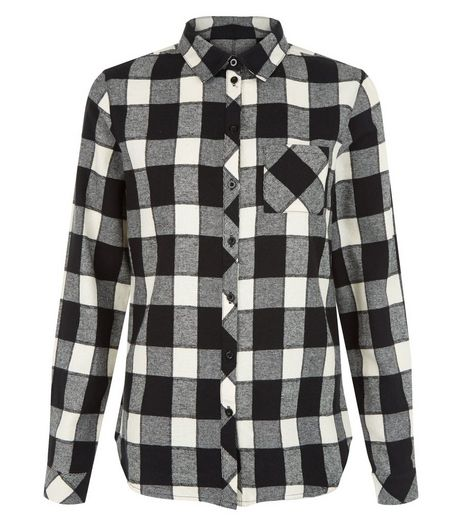 Teens Black Check Shirt | New Look