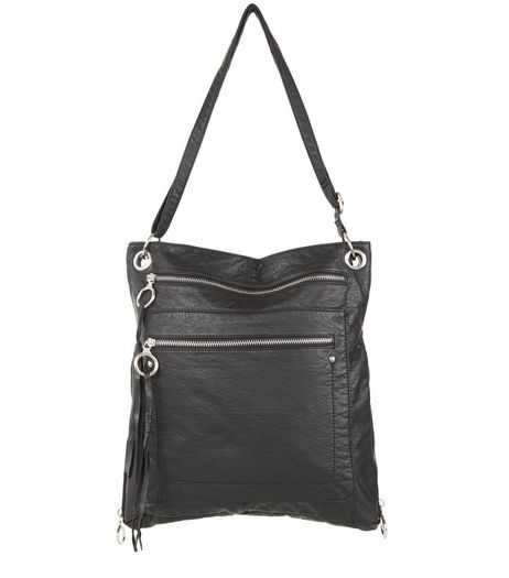Black Shoulder Bag | New Look