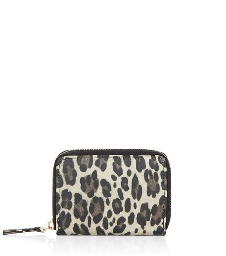 Brown Leopard Print Purse  | New Look