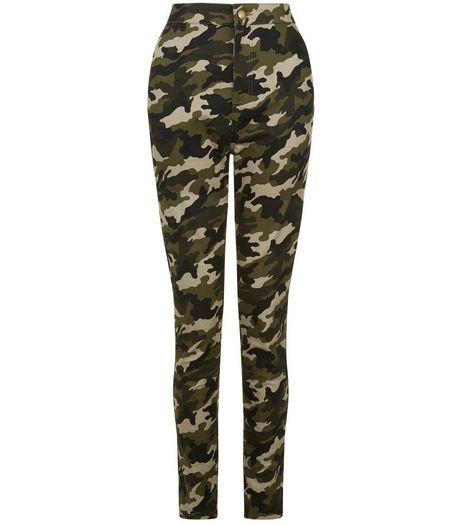 Cameo Rose Camo Print Skinny Jeans | New Look