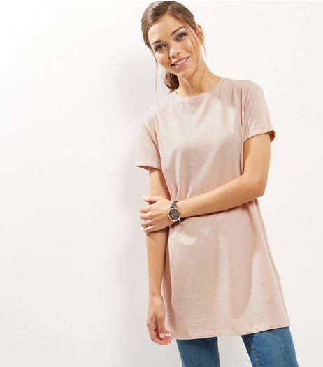Camel Boyfriend T-Shirt | New Look