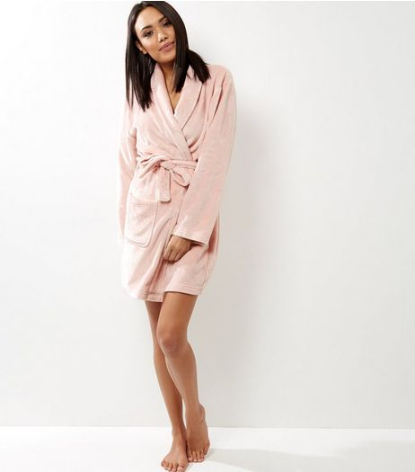 Mid Pink Dressing Gown  | New Look