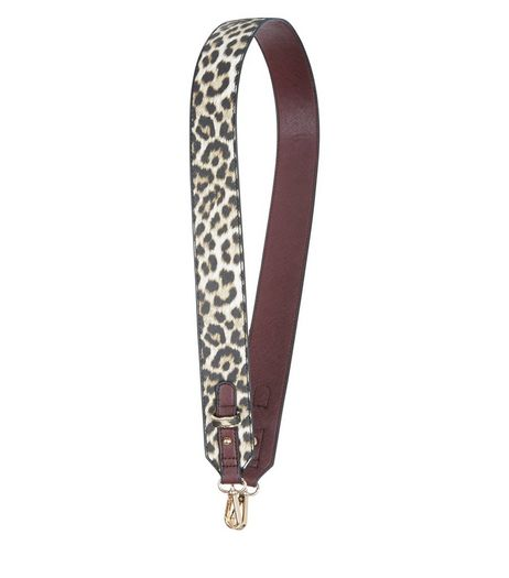 Brown Leopard Print Bag Strap | New Look