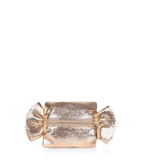 Gold 3D Sweetie Purse | New Look