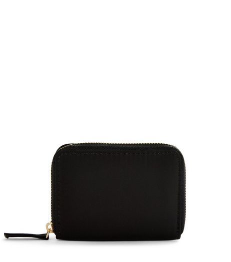 Black Nylon Cardholder | New Look