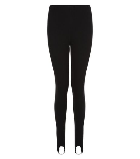 Teens Black Stirrup Leggings | New Look