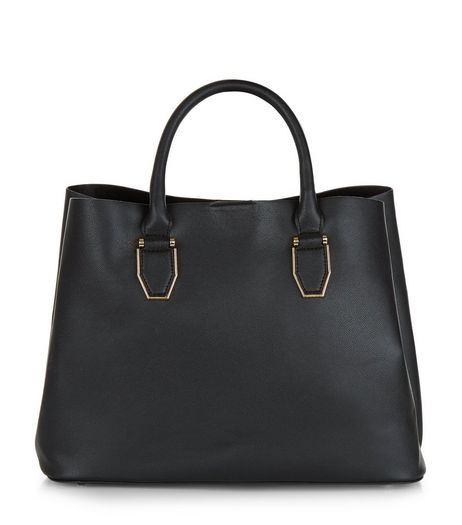 Black Tote Bag | New Look