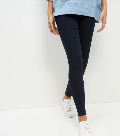 Tall Navy High Waisted Jeggings | New Look