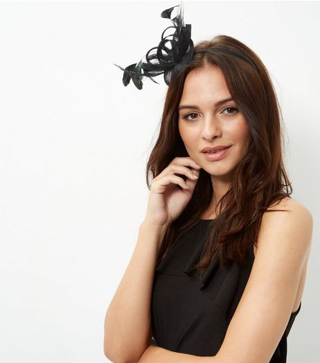 Black Feather Fascinator | New Look