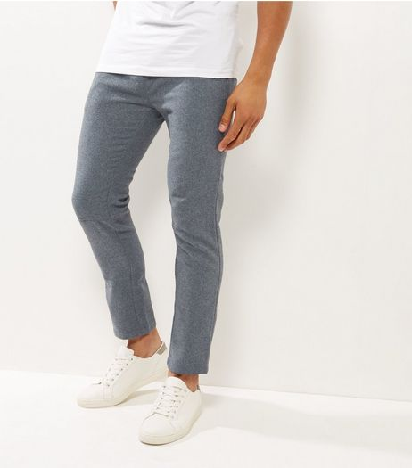 Grey Speckled Basic Joggers | New Look