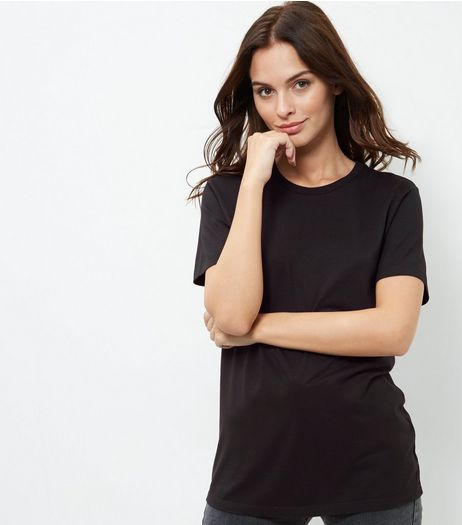 Black Boyfriend T-Shirt | New Look