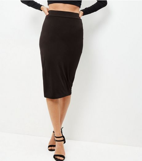 Black Pencil Skirt | New Look