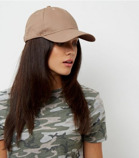 Mink Baseball Cap | New Look