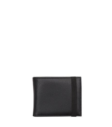 Black Elasticated Wallet | New Look