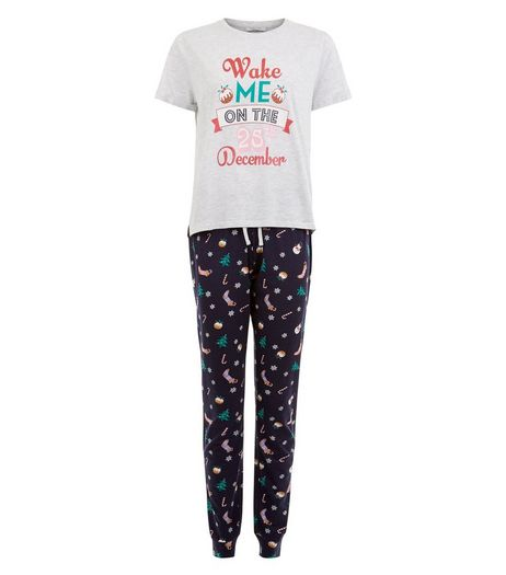 Teens Christmas Pyjama Set | New Look