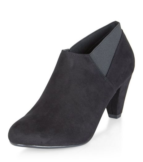 Teens Black Suedette Ankle Boots | New Look