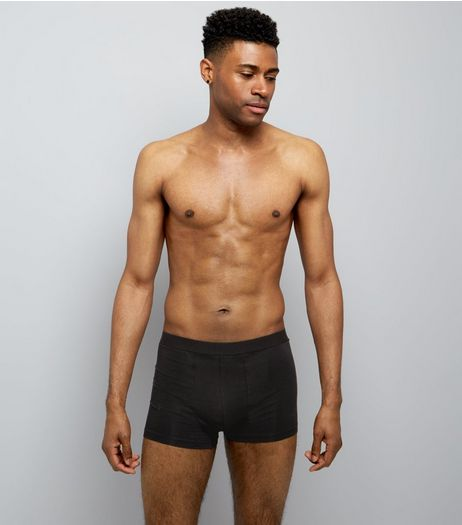 3 Pack Black Trunks | New Look